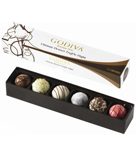 Godiva Ultimate Dessert Truffle Flight