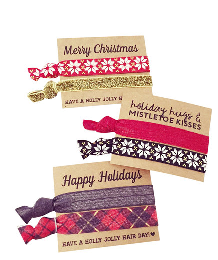 Holiday Hair Ties