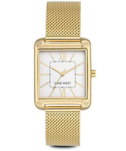 Nine West Larkinah Mesh Strap Watch