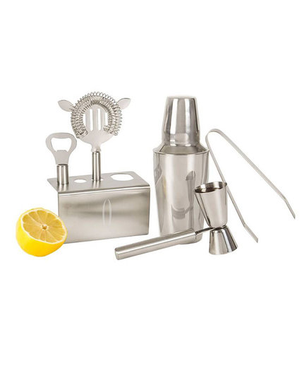 Monogram Stainless Steel Mixology Set