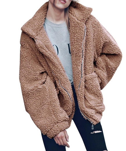 The Prettiest Teddy Bear Coats to Keep You Cozy All Winter ...