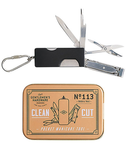 Gentleman's Hardware Pocket Manicure Tool