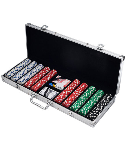 Trademark 500-Piece Poker Set