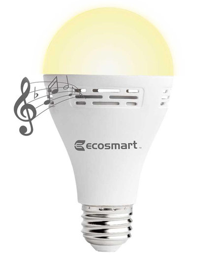 EcoSmart Smart Bluetooth LED Speaker Bulb