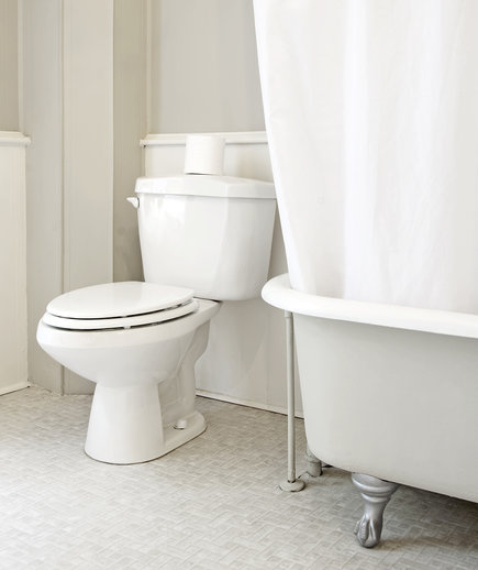 How to Get the Toilet Sparkly Clean