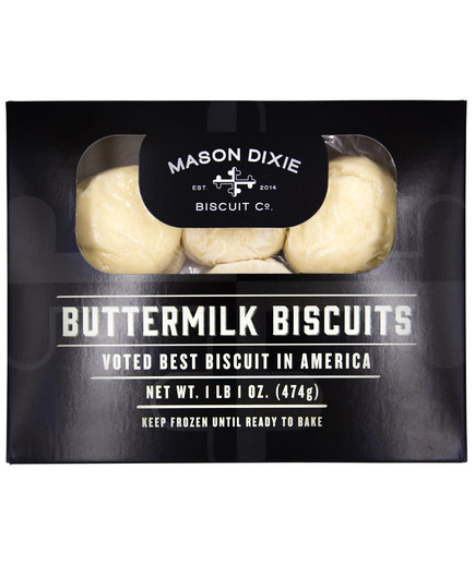 Mason Dixie Ready-to-Bake Frozen Biscuits