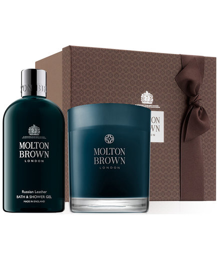 Molton Brown Russian Leather collection