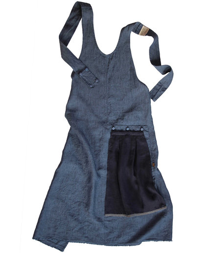 Grace Apron with Flounce