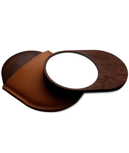 Leather Pocket Mirror