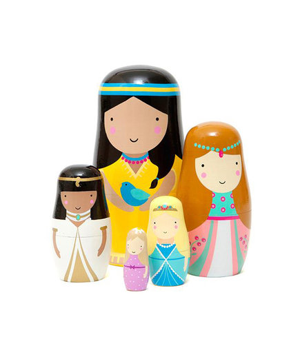 Princess Nesting Dolls