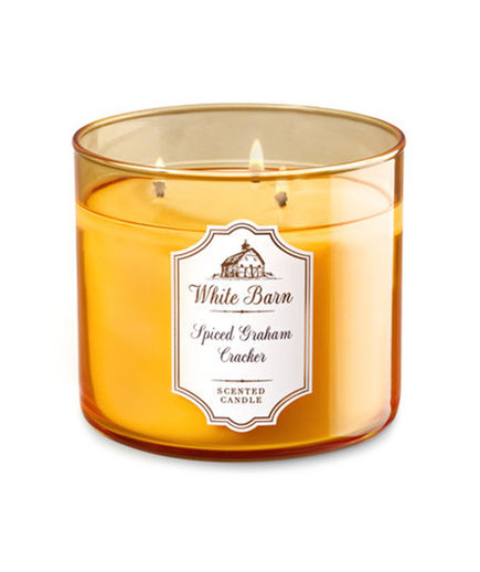 Bath and Body Works Spiced Graham Cracker Candle