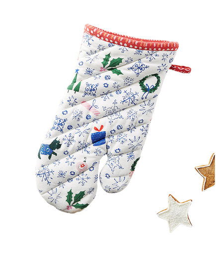 Jingle Bell Swing Oven Mitt