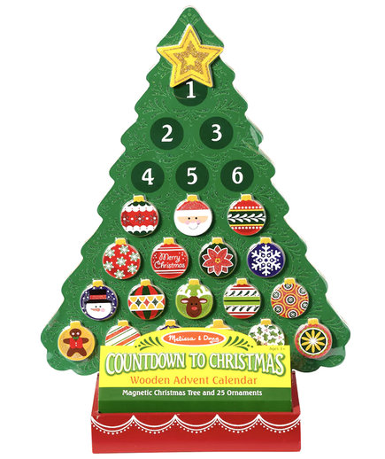Wooden Advent Calendar by Melissa & Doug