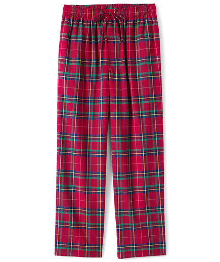 Land's End Classic Red Plaid Pajamas