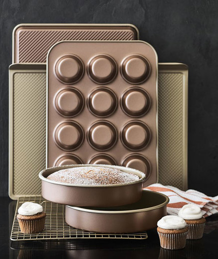 Williams-Sonoma Copper Goldtouch 6-Piece Boxed Set