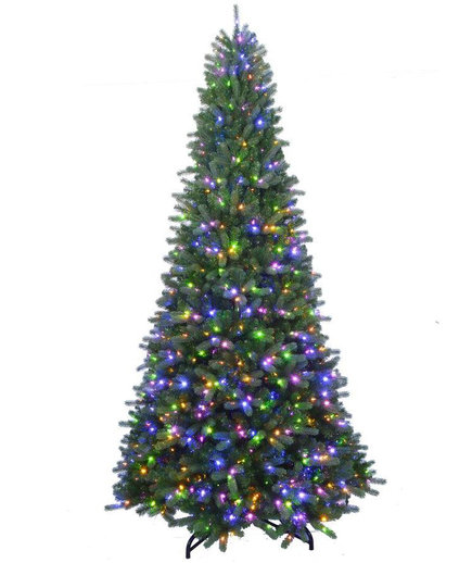 Home Accents Holiday Artificial Spruce Tree