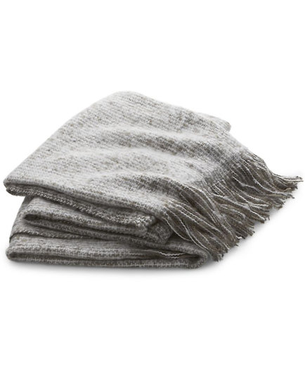 Acrylic Fringe Throw