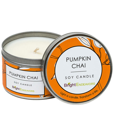 Bright Endeavors Pumpkin Chai Candle