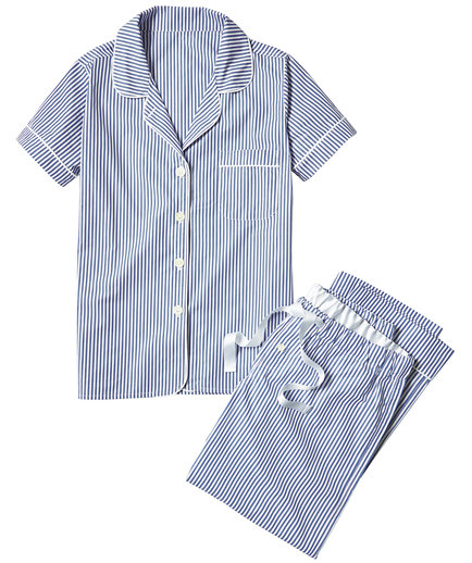 Serena & Lily Oxford Stripe Pajamas