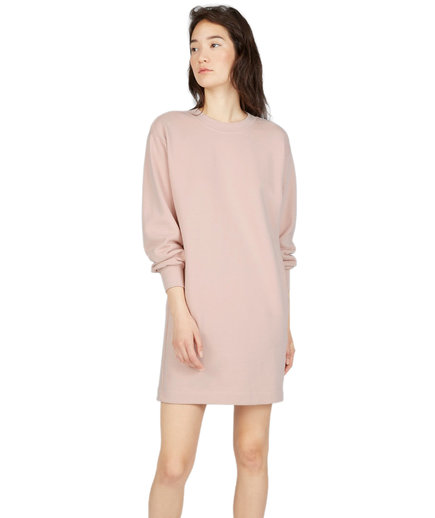 Everlane Classic French Terry Crew Neck Dress
