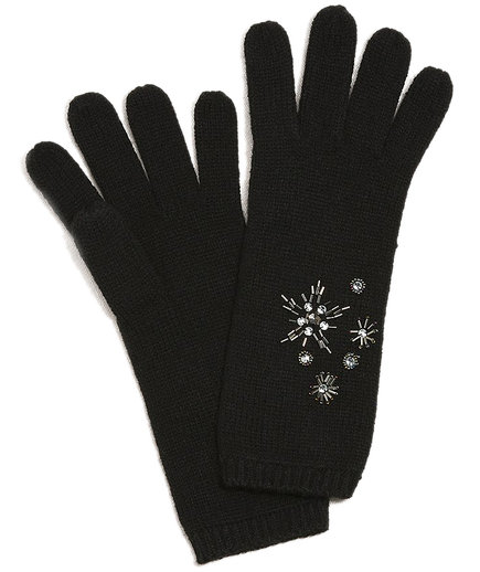 Dressbarn Jeweled Gloves