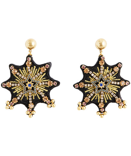 Ann Taylor Stellar Star Drop Earrings