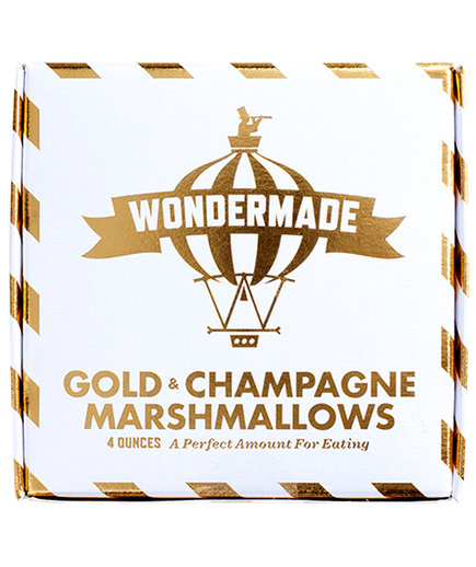 Gold and Champagne Marshmallows