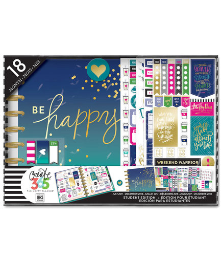 The Happy Planner Be Happy 18-Month Planner