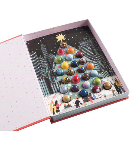 Stick With Me Sweets Christmas in NY Tree Box of Bonbons