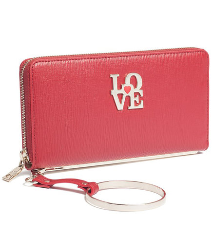Moschino Red Love Wallet