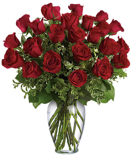 Always on My Mind Red Roses Bouquet