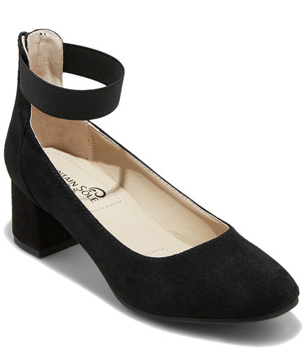 Mountain Sole Madyn Elastic Strap Pumps