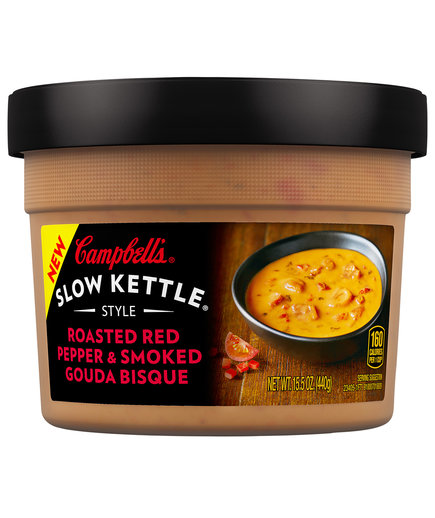 Campbell's Slow Kettle Style Roasted Red Pepper & Smoked Gouda Bisque