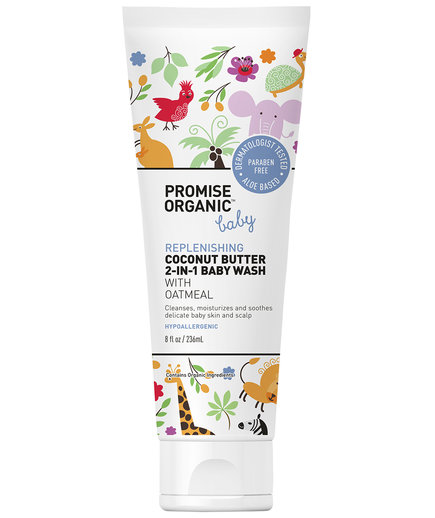 Promise Organic Baby Replenishing Coconut Butter 2-in-1 Baby Wash