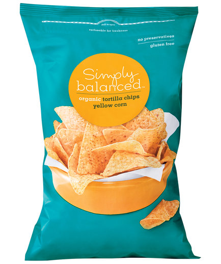 Simply Balanced Organic Yellow Corn Tortilla Chips