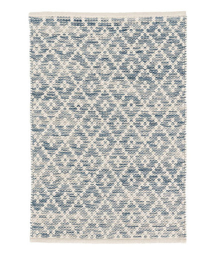 Dash & Albert Melange Diamond Woven Rug