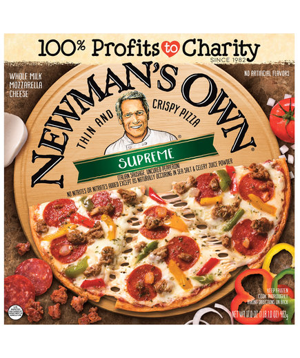 Newman's Own Supreme Thin and Crispy Pizza