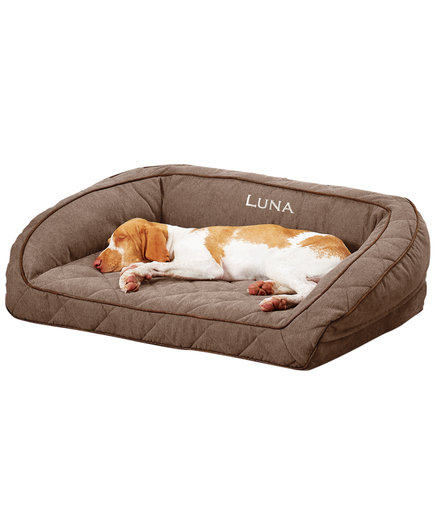 Orvis Airfoam Bolster Dog Bed (DF)