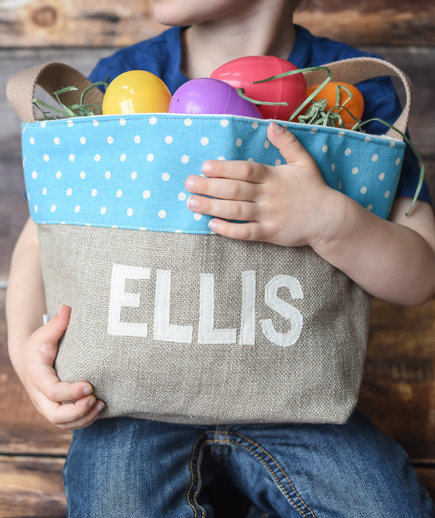 Child's Catch-All Easter Basket