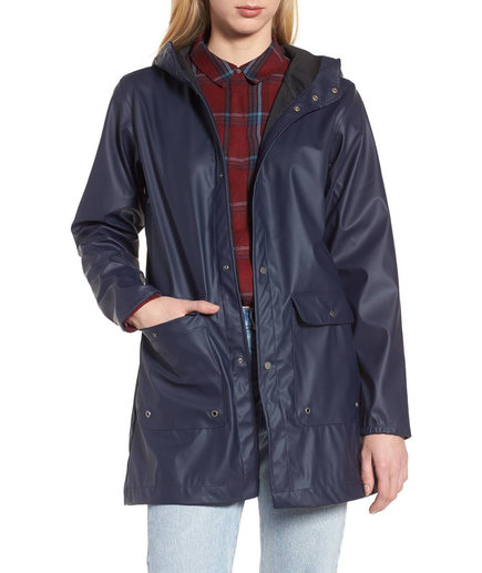 Herschel Supply Co. Rubberized Parka