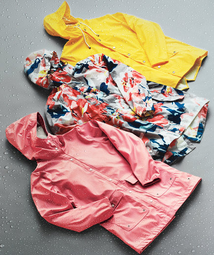 Colorful Raincoats (0418FAS)