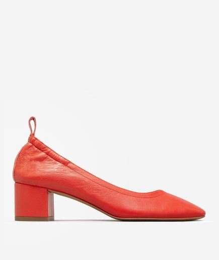 Everlane Red Day Heels