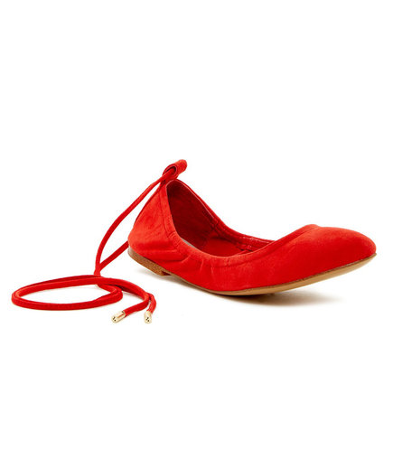 1.State Skylar Casual Ankle-Tie Ballet Flat
