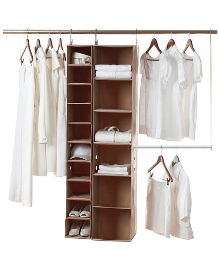 NeatFreak Closet Organization System (6 Organizers That Will Cut the Clutter in Your Closet for Good)