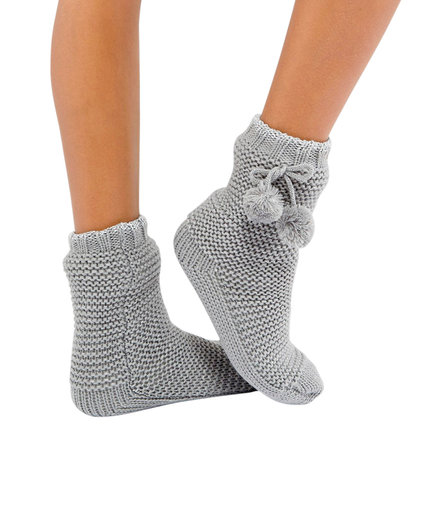 ASOS Oasis Pom Pom Slipper Socks (The Coziest Clothes For Staying In)