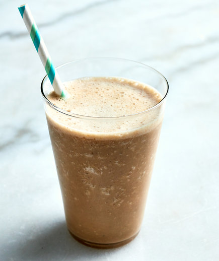 Coffee, Oat, and Maple Smoothie