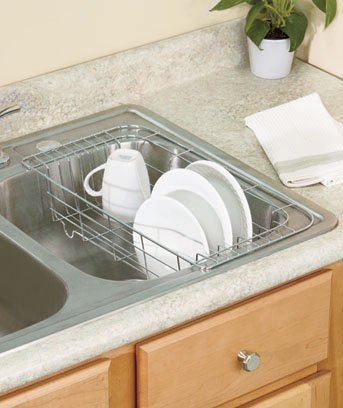 Compact Sink Dish Rack