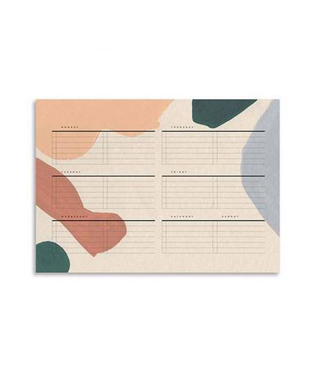 Alma Weekly Planning Notepad
