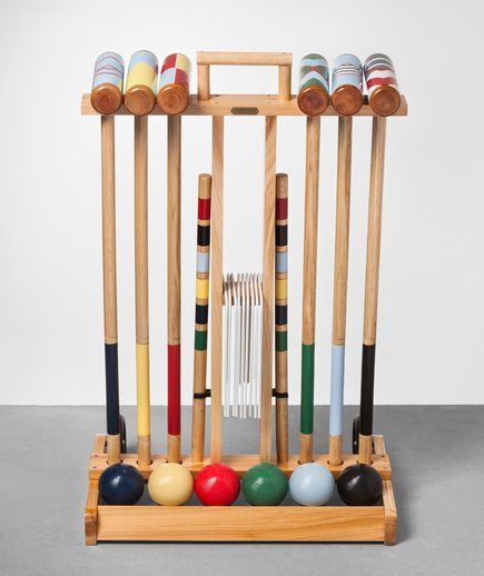 Croquet Set With Cart