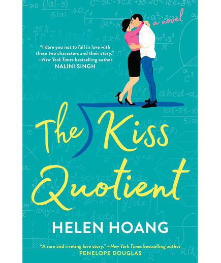 Airplane Books The Kiss Quotient, by Helen Hoang